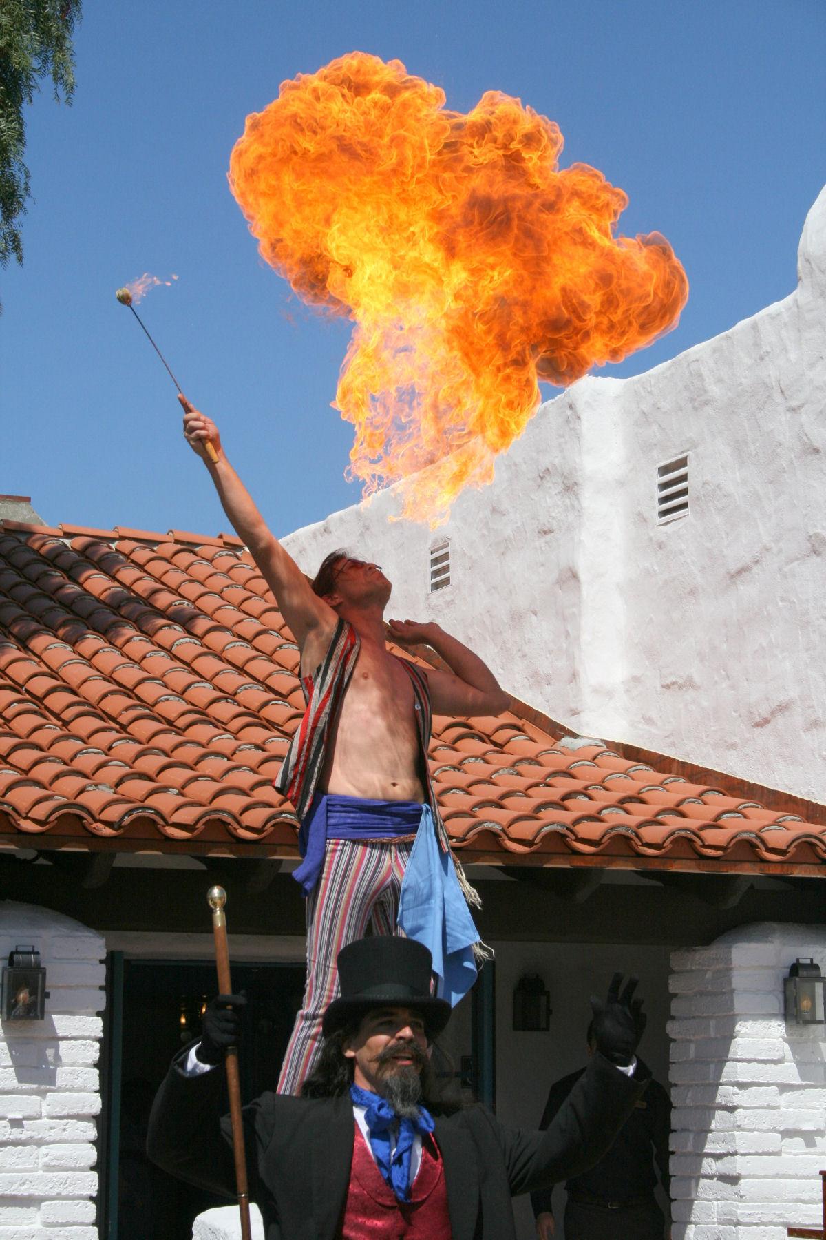 Fire breathing Murrugan