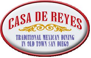 Casa de Reyes logo linked to Casa de Reyes Website