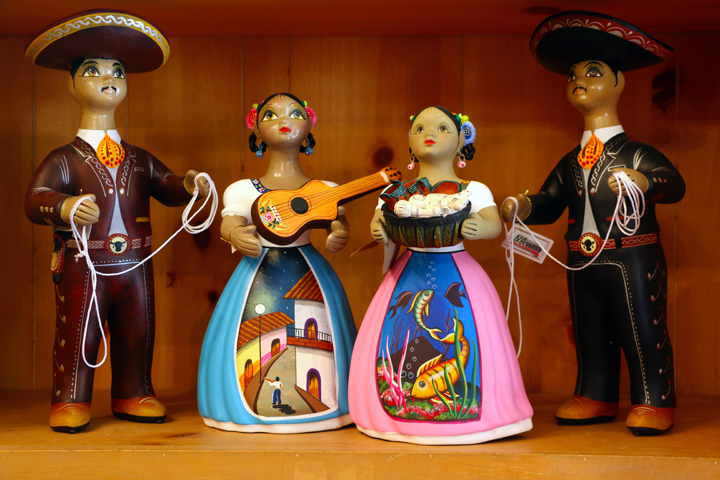 Javier's Handicrafts - clay figures