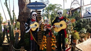 Day of the Dead Decorations at Fiesta de Reyes